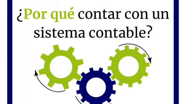 Contar con un sistema contable💻 es muy importante para la empresa porque facilita enormemente la gestión contable y reduce los errores que puedan ser provocados por cualquier motivo🙌.